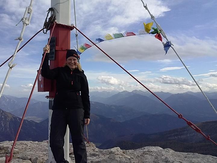 Schafferteich – Zellerhütte – Warscheneck (2.388hm) –Gipfelsieg