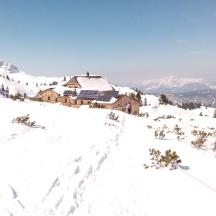 Bildcredits: Dorisworld.at   Wiesberghaus - Dachstein - im Winter