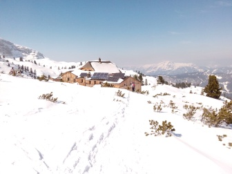 Bildcredits: Dorisworld.at | Wiesberghaus - Dachstein - im Winter