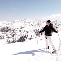 Bildcredits: Dorisworld.at   Schneeschuhwandern