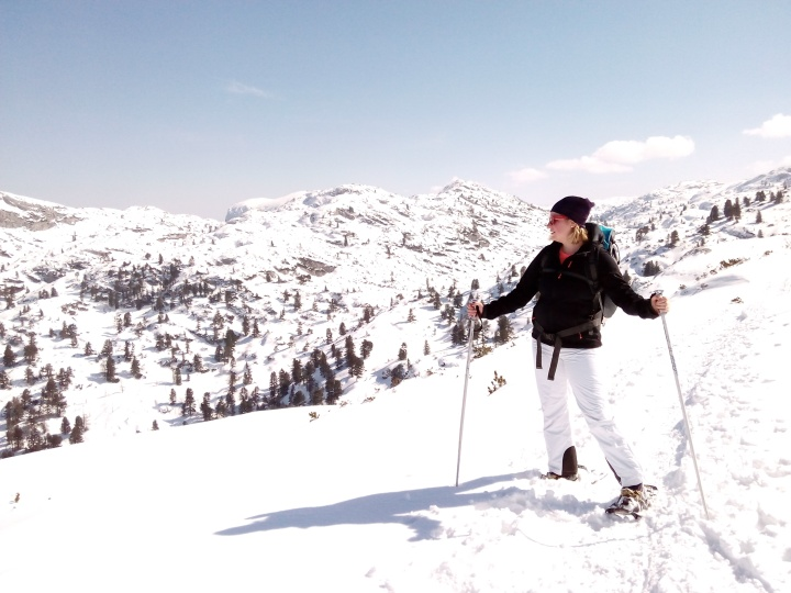 Wandern mit Schneeschuhen | Dachstein | Krippenstein | AlmwochenendeOÖ