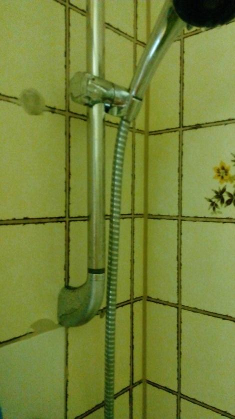 Die Dusche mit Ihren Fliesen - die 80er lassen grüßen...