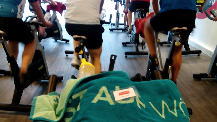 Indoor-Cycling Klasse