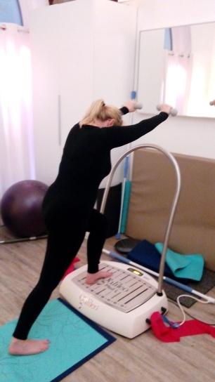 @DorisWorld - Übung mit den Hanteln