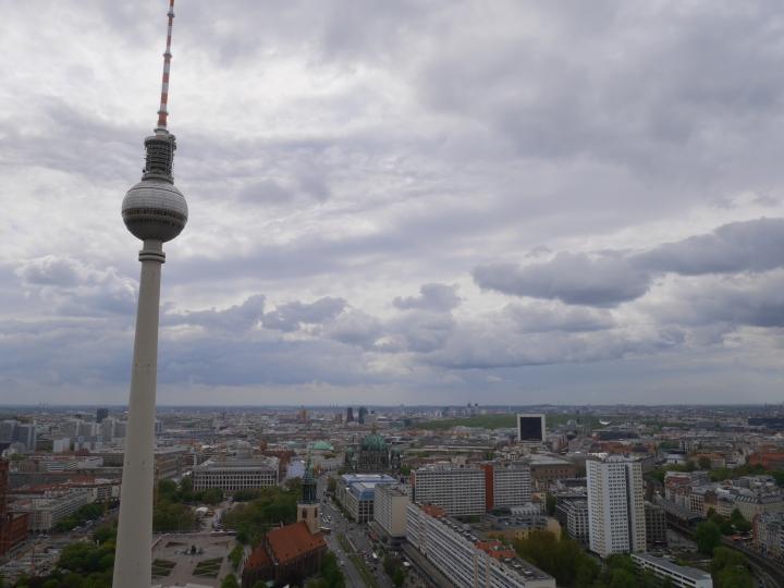 Berlin, Berlin | Das erste Mal auf den Spuren der Republica TEN alsEinzelne.