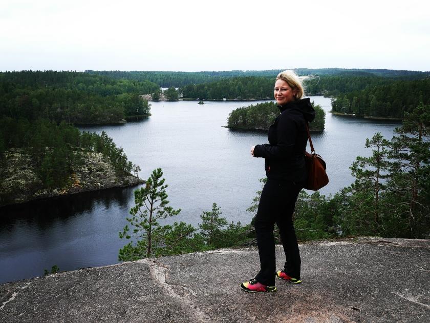 Bildcredits: Dorisworld.at | Ich im finnischen Nationalpark