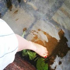 Bildcredits: Dorisworld.at | Nach der Sauna ins Wasser