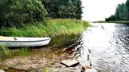 Bildcredits: Dorisworld.at | Der Fluss neben dem Haus und wo ich nach der Sauna badete