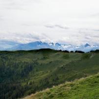 Bildcredits: Dorisworld.at | Blick vom Asitz auf den Kitzsteinhorn Gletscher