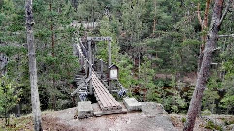 Bildcredits: Dorisworld.at | Hängebrücke im Nationalpark