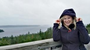 Bildcredits: Dorisworld.at | Oben auf dem Turm mit Aussicht und leichtem Nieselregen