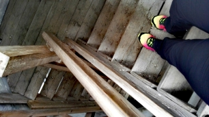 Bildcredits: Dorisworld.at | Runter vom Turm mit meinen Trail-Schuhen