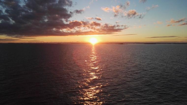Bildcredits: Dorisworld.at | Sunset auf der Ostsee - Fahrt Richtung Helsinki
