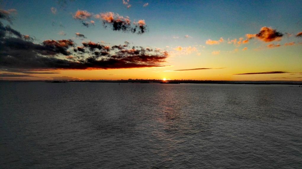Bildcredits: Dorisworld.at   Sunset auf der Ostsee - Fahrt Richtung Helsinki