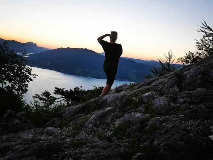 Gute Erinnerungen, Nachtwanderung Schoberstein amAttersee