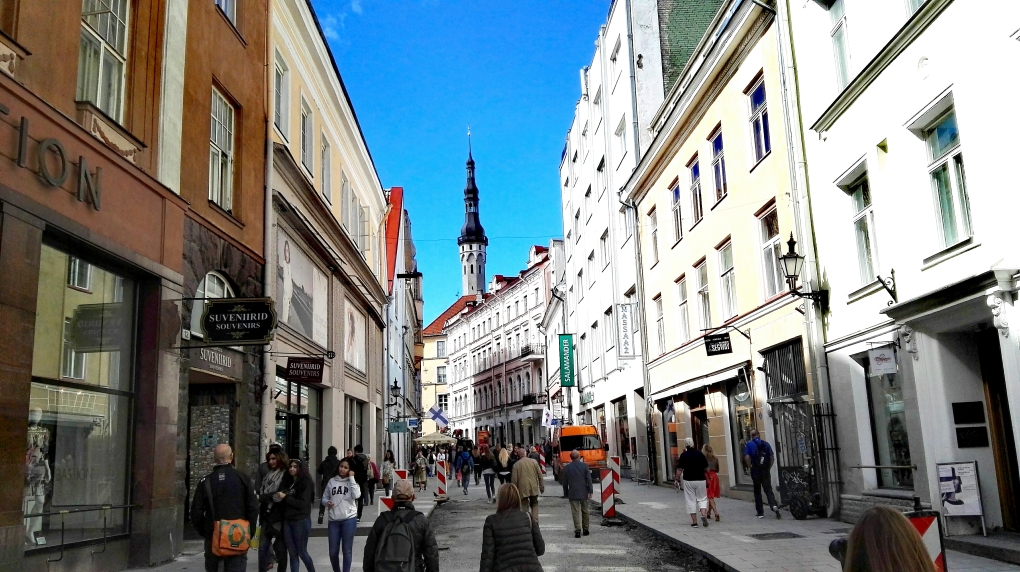 Bildcredits: Dorisworld.at   Straßen von Tallin, Estland