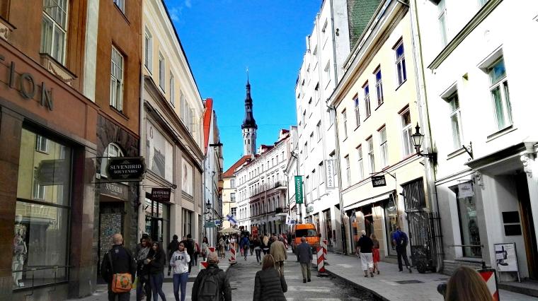 Bildcredits: Dorisworld.at | Straßen von Tallin, Estland