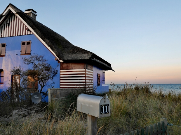 Bildcredits: Dorisworld.at | Graswarder Heiligenhafen Häuser