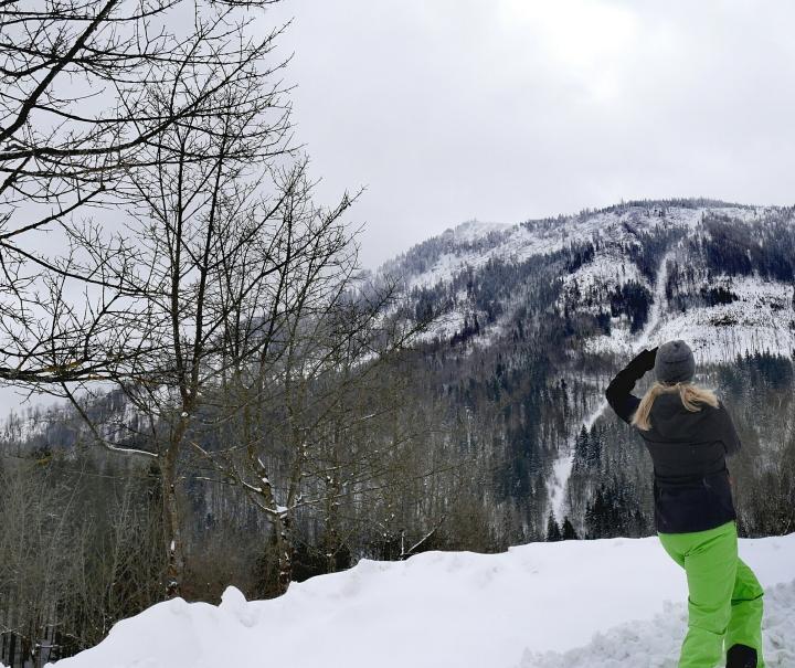 Wintergaudi, wo andere Wallfahrten: Ich bin mal Mariazell, Steiermark,Österreich!