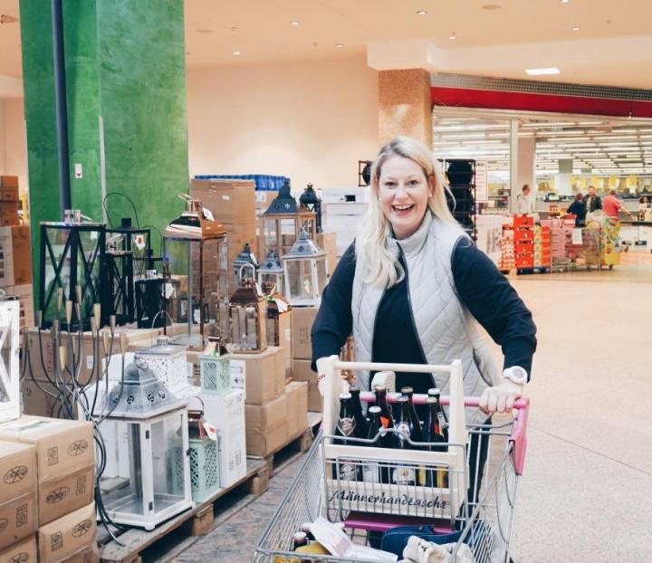 7 Fashion Pop-Up, Uno Shopping, Leonding: Mein Tag zwischen Sägen und Babyfläschchen | Schnäppchenshoppen mit Geduld, Spaß undKöpfchen