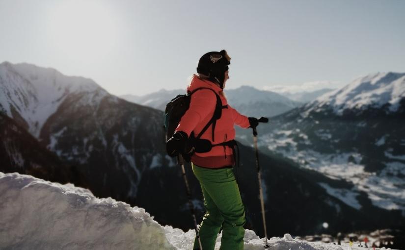 Als Erster auf der Piste zusammen mit Ski-Weltstar BenniRaich!
