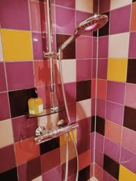 Bildcredits: Dorisworld.at   Explorer Hotel Gaschurn, die Duschen