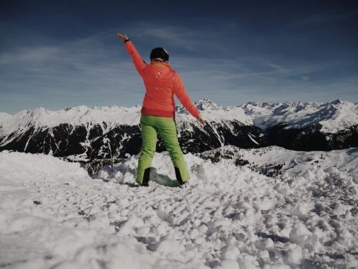 Bildcredits: Dorisworld.at   Sonnenschein-Skilaufen in Österreich