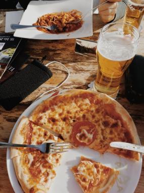 Bildcredits: Dorisworld.at   Pizza