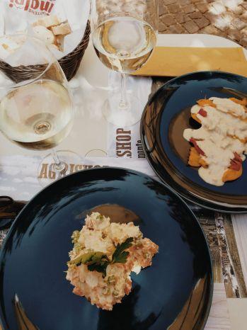 Bildcredits: Dorisworld.at   Weinchen und Mittagessen