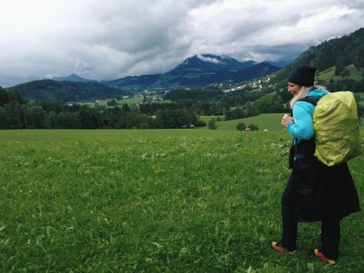 Ausflug am Wochenende: Wandern von Hütte zu Hütte inOberösterreich