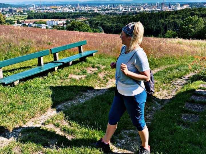 Linzer Stadtwanderung: Über den Bachlberg zumPanoramastüberl